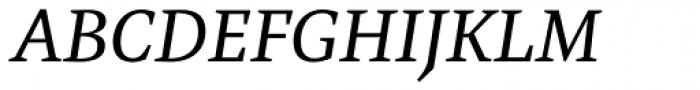 Mokka Italic Font UPPERCASE