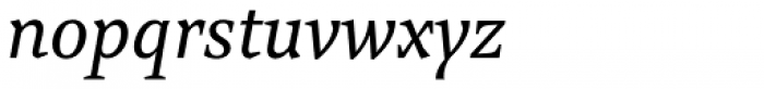 Mokka Italic Font LOWERCASE