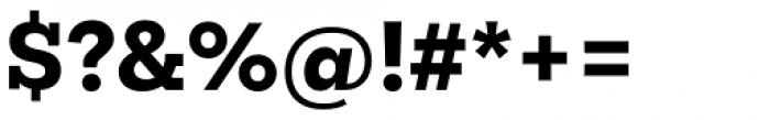 Mokoko Extra Bold Font OTHER CHARS