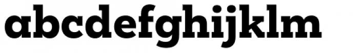 Mokoko Extra Bold Font LOWERCASE