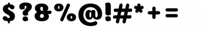 Moku Brush Black Font OTHER CHARS