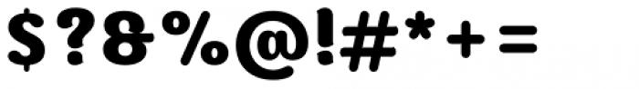Moku Brush Extra Bold Font OTHER CHARS