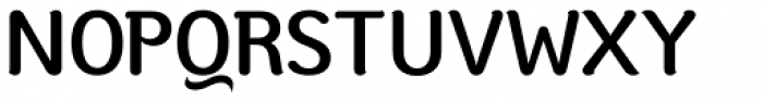 Moku Brush Medium Font UPPERCASE