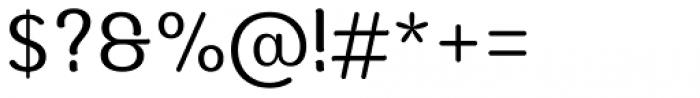 Moku Brush Regular Font OTHER CHARS