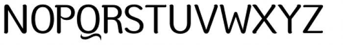 Moku Brush Regular Font UPPERCASE