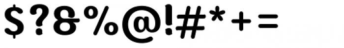 Moku Brush Semi Bold Font OTHER CHARS