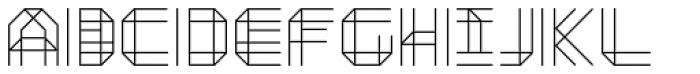 Moku26 Pine Font UPPERCASE