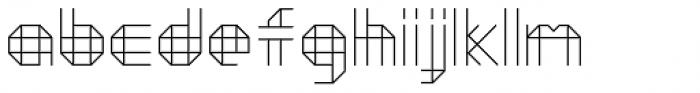 Moku26 Pine Font LOWERCASE
