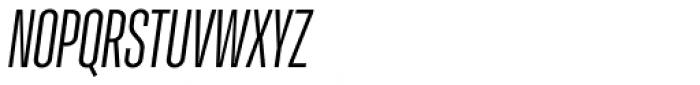 Molde Compressed Medium Italic Font UPPERCASE