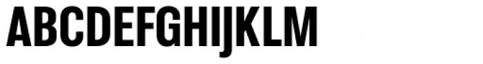 Molde Condensed Black Font UPPERCASE