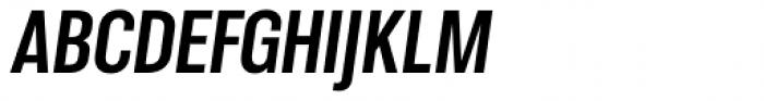 Molde Condensed Bold Italic Font UPPERCASE