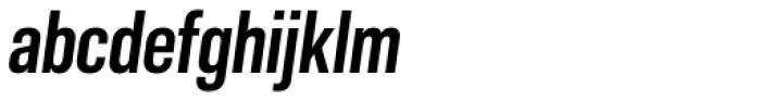 Molde Condensed Bold Italic Font LOWERCASE