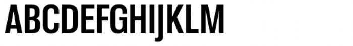 Molde Condensed Bold Font UPPERCASE