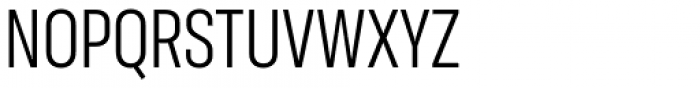 Molde Condensed Regular Font UPPERCASE