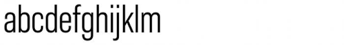 Molde Condensed Regular Font LOWERCASE