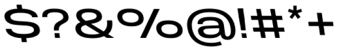 Molde Expanded Medium Reverse Font OTHER CHARS