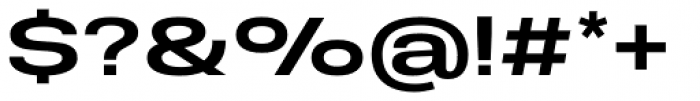 Molde Expanded Semibold Font OTHER CHARS