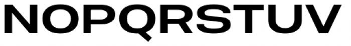 Molde Expanded Semibold Font UPPERCASE