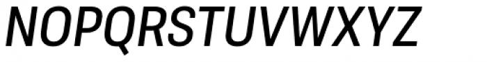 Molde Semi Condensed Medium Italic Font UPPERCASE