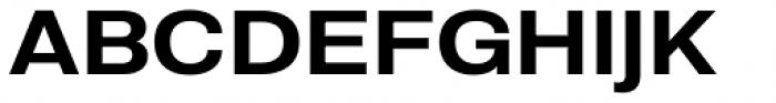 Molde Semi Expanded Semibold Font UPPERCASE