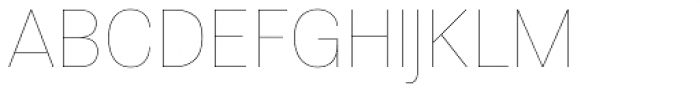 Molde Thin Font UPPERCASE