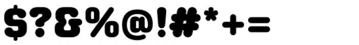 Moldr Black Font OTHER CHARS