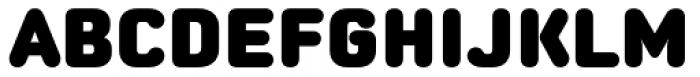 Moldr Black Font UPPERCASE