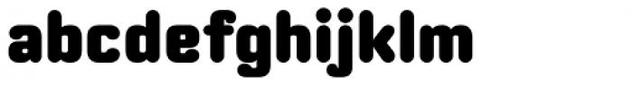 Moldr Black Font LOWERCASE