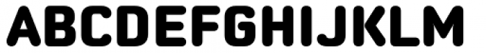 Moldr Extra Bold Font UPPERCASE
