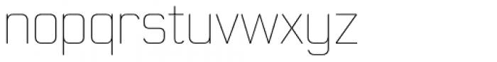 Moldr Thin Font LOWERCASE