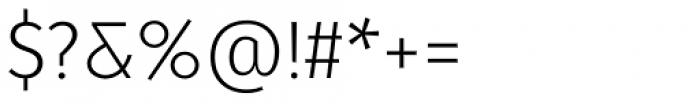 Molecula Light Font OTHER CHARS