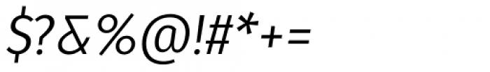 Molecula Regular Italic Font OTHER CHARS