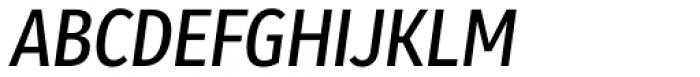 Molecula Semi Bold Italic Font UPPERCASE