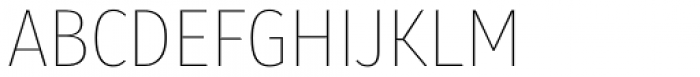 Molecula Thin Font UPPERCASE