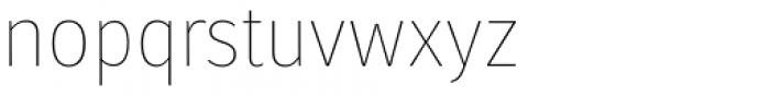 Molecula Thin Font LOWERCASE