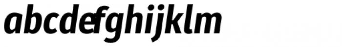 Molecula Ultra Bold Italic Font LOWERCASE