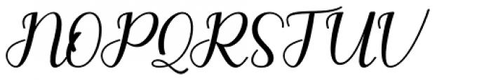 Moliani Regular Font UPPERCASE