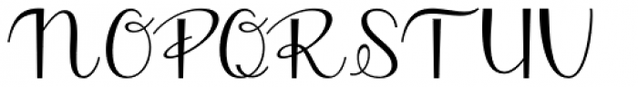 Molianty Regular Font UPPERCASE