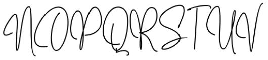 Mollaroid Signature Regular Font UPPERCASE