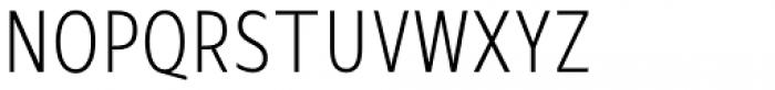 Mollen Light Condensed Font UPPERCASE