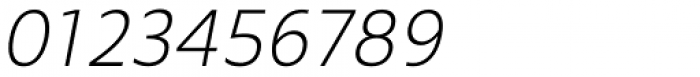 Mollen Light Narrow Italic Font OTHER CHARS