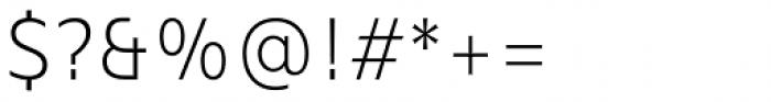 Mollen Light Narrow Font OTHER CHARS