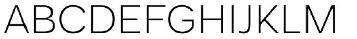 Mollen Light Font UPPERCASE