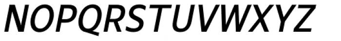 Mollen Medium Narrow Italic Font UPPERCASE