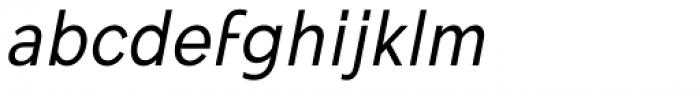 Mollen Narrow Italic Font LOWERCASE