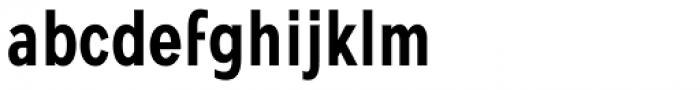 Mollen Semi Bold Condensed Font LOWERCASE