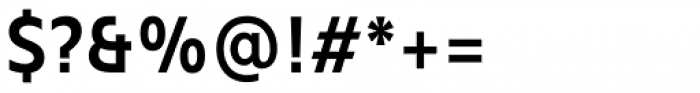 Mollen Semi Bold Narrow Font OTHER CHARS