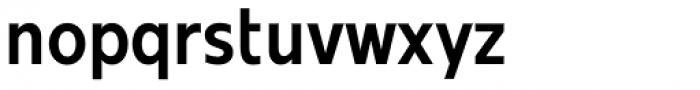 Mollen Semi Bold Narrow Font LOWERCASE