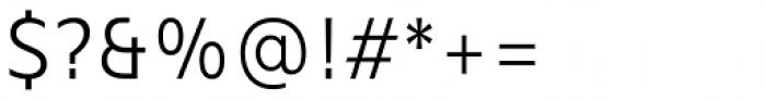 Mollen Semi Light Narrow Font OTHER CHARS