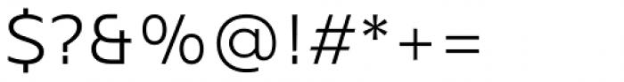 Mollen Semi Light Font OTHER CHARS